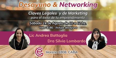 Claves Legales y de Marketing para Emprendedores entradas