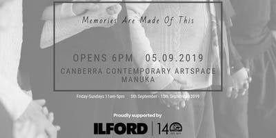 Memories Are Made Of This ~ Exhibition Opening