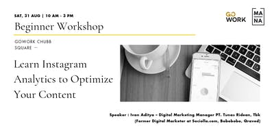 (Workshop) Learn Instagram Analytics to Optimize Your Content