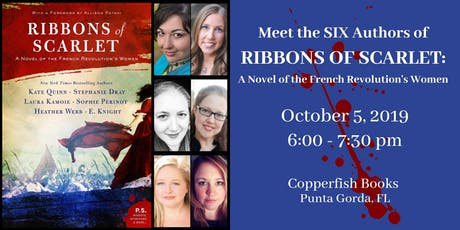 """Meet the SIX Authors of """"Ribbons of Scarlet"""" tickets"""