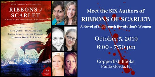 "Meet the SIX Authors of ""Ribbons of Scarlet"""