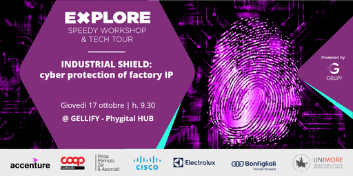 Speedy Workshop - Industrial Shield: cyber protection of factory IP