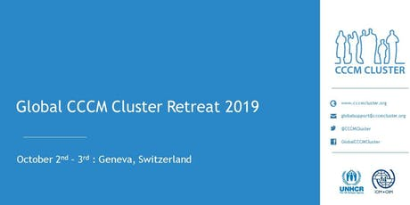 Global CCCM Cluster Retreat 2019 Tickets