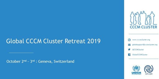 Global CCCM Cluster Retreat 2019