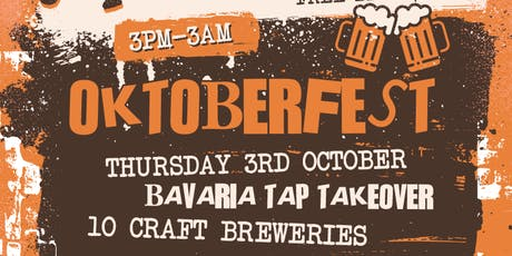 OKTOBER FEST - TAP TAKEOVER tickets