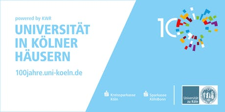 Universität in Kölner Häusern powered by KWR - Nachhaltige Entwicklung Tickets