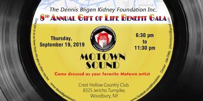 8th Annual Dennis Bligen Kidney Foundation Benefit Gala-Thursday, SEPT.19, 2019       ~MOTOWN SOUND ~