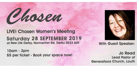 Chosen Live (Ladies Event) tickets