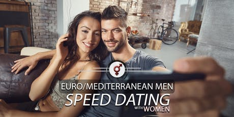 Euro/Mediterranean Men Speed Dating | F 34-46, M 36-49 | Unlimited Bubbly tickets
