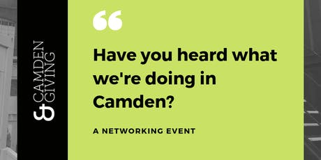 Have you heard what we're doing in Camden? tickets