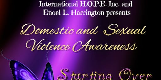 Domestic and Sexual Violence Awareness ~ Starting Over