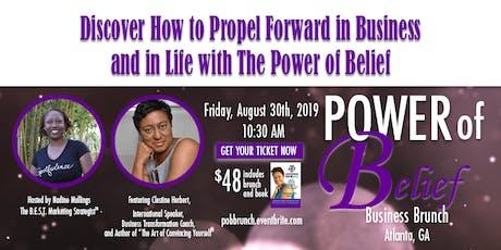 Power of Belief Business Brunch tickets
