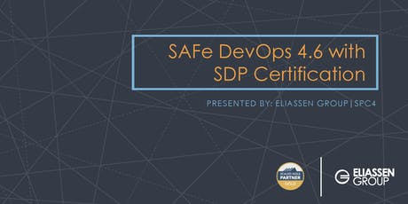 Connecticut - SAFe DevOps with Practitioner Certification (SDP) tickets