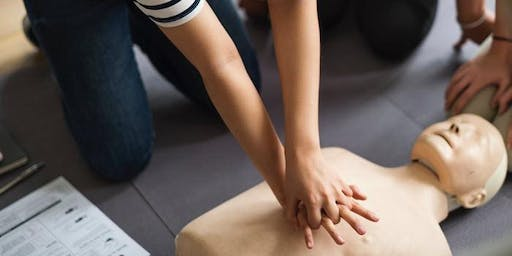 FREE First Aid at work Training