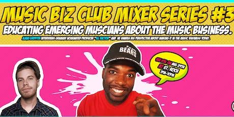Music Biz Club  Mixer tickets