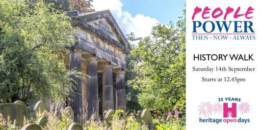 Heritage Open Day - Guided History Tour - Saturday 14th September - 12.45pm