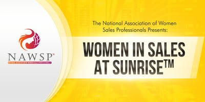 NAWSP™ Greater LA Women in Sales at Sunrise™