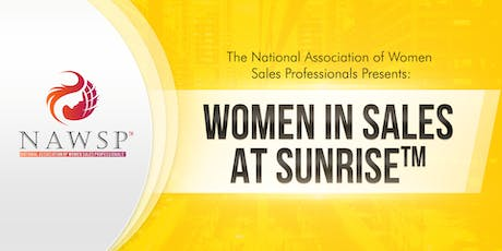 NAWSP™ Birmingham Women in Sales at Sunrise™ tickets