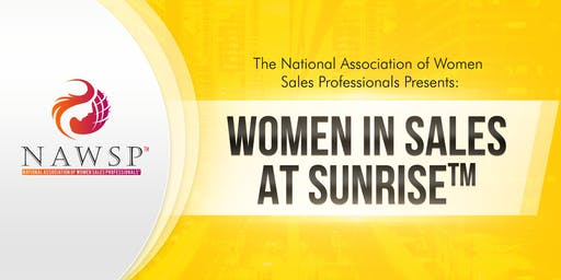 NAWSP™ Greater LA Women in Sales at Sunrise™