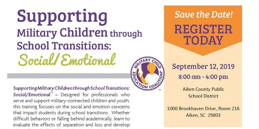 Supporting Military Children through School Transitions: Social/Emotional