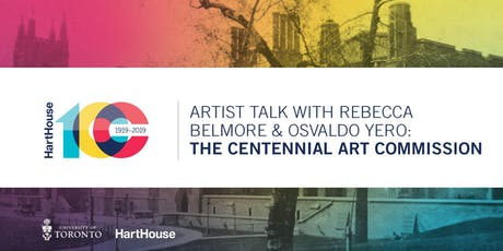Artist Talk with Rebecca Belmore & Osvaldo Yero: Centennial Art Commission tickets
