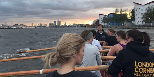 Monday 26th August 18:45-20:00hrs: Docks - open rowing session
