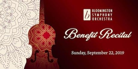 Bloomington Symphony Benefit Recital feat. Michael Sutton & Solerna Winds tickets