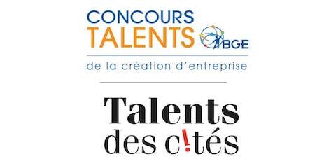 Cérémonie de Remise des Prix Concours Talents BGE et Talents des Cités billets