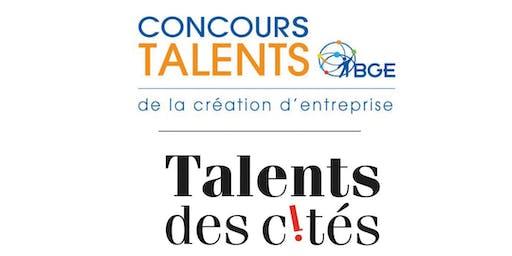 Cérémonie de Remise des Prix Concours Talents BGE et Talents des Cités