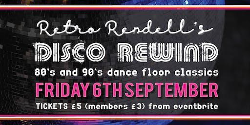 DJ Retro Rendells Disco Rewind!