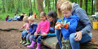 Family Forest School Morning