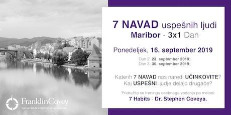 7 Navad - Maribor - September tickets