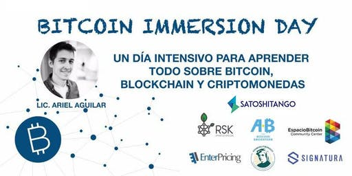 Bitcoin Immersion Day