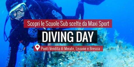 MAXI SPORT | Diving Day Lissone 8 settembre 2019 biglietti