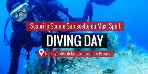 MAXI SPORT | Diving Day Lissone 8 settembre 2019