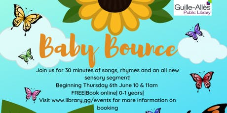 Baby Bounce @ 10.00 tickets