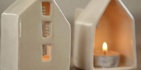 PLAY WITH CLAY - TEA LIGHT HOUSES tickets
