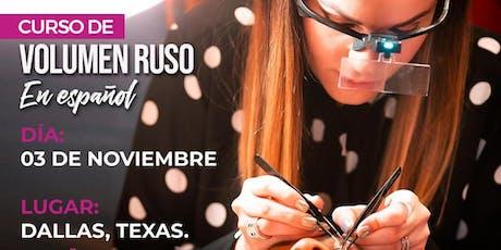 Curso de Volumen Ruso - Dallas, Texas boletos