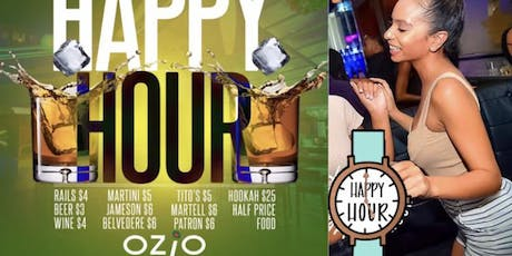 Happy Hour at OZIO'S RETRACTABLE Rooftop Fridays tickets