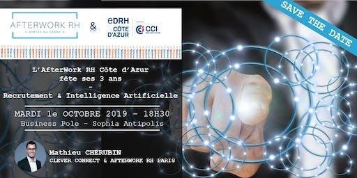 AfterWork RH Côte d'Azur - 1e octobre 2019 - FÊTONS NOS 3 ANS ... Recrutement&IA
