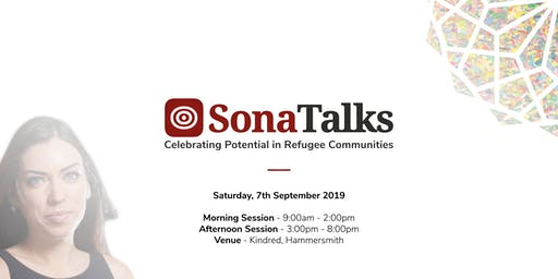 SonaTalks 2019 | An Event Celebrating Potential and Achievements in Refugee Communities
