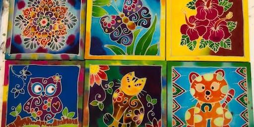 CRAFTS GALORE: Batik Painting