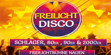 Freilicht Disco Open Air Tickets