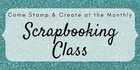 Scrapbooking Class tickets