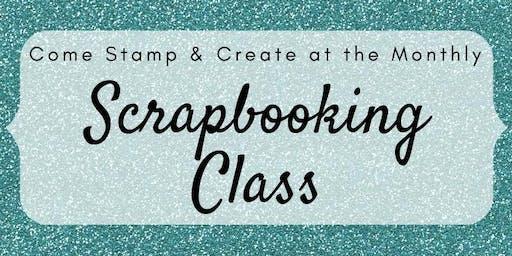 Scrapbooking Class