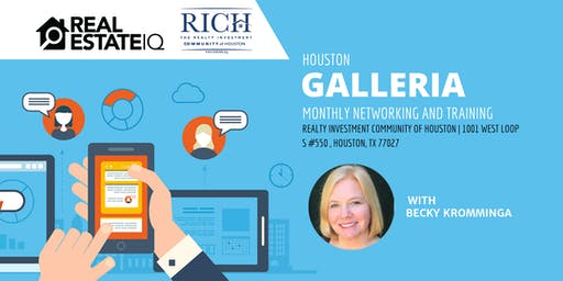 Houston - Galleria Monthly Deal Finding Training