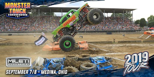 Monster Truck Throwdown FALL BASH - September 7, 2019