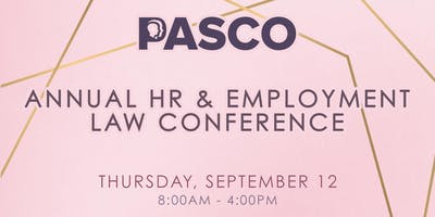 PASCO Annual HR Conference