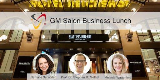 GM Salon: Business-Lunch im Hotel Reichshof