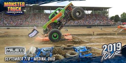 Monster Truck Throwdown FALL BASH - September 8, 2019